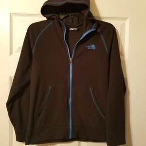 The North Face hooded fleece size L G 14-16